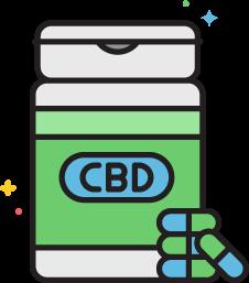 CBD capsules at Stateline CBD
