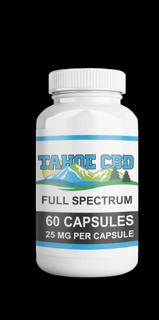 Full Spectrum CBD Oil in South Lake Tahoe CBD Capsules